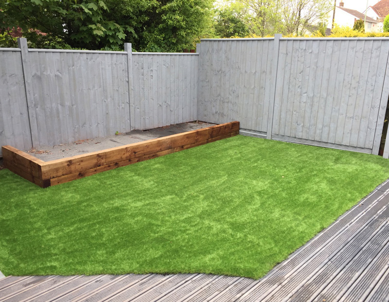 Harbron Home Improvements Artificial Grass Transformation