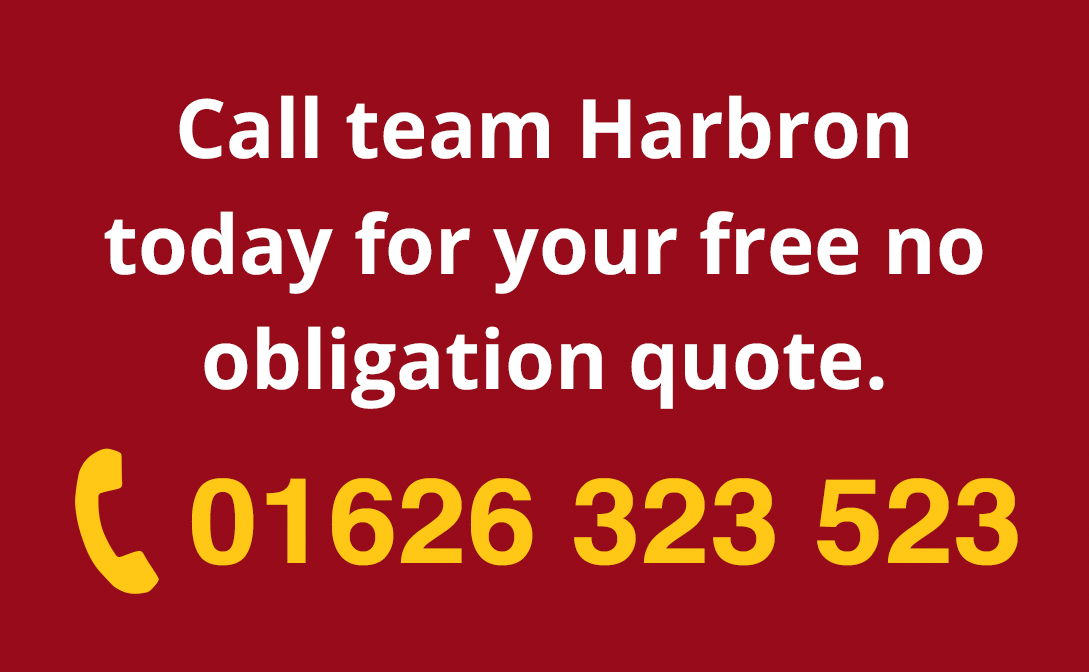 Call Harbron Dartmouth on 01626 323 523