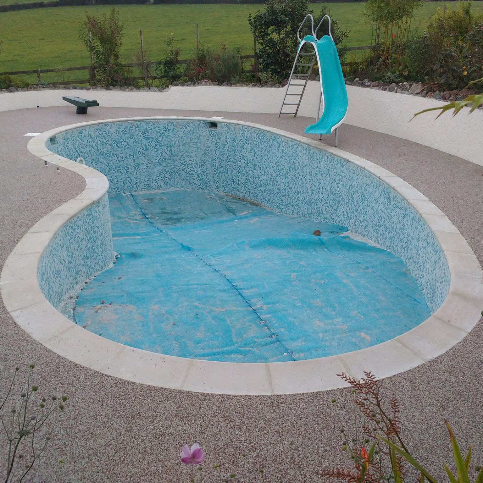 Resin Bound Swimming Pools in Newton Abbot
