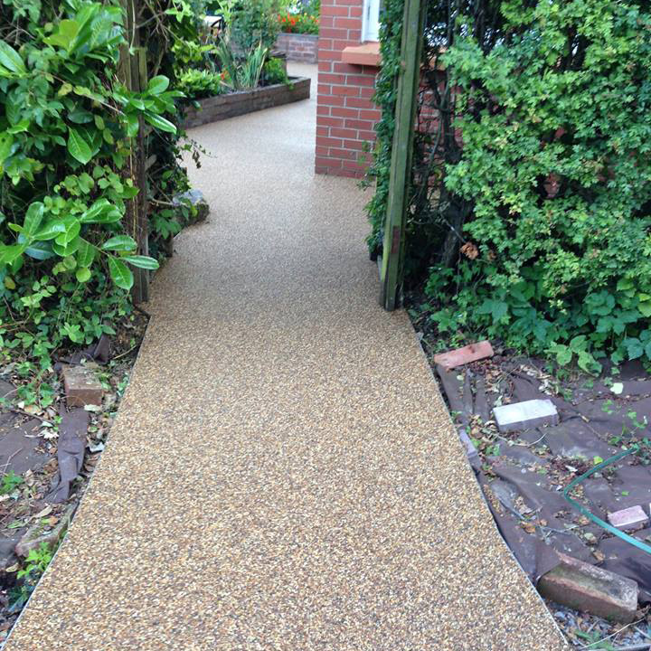 Resin Bound Pathways in Ivybridge