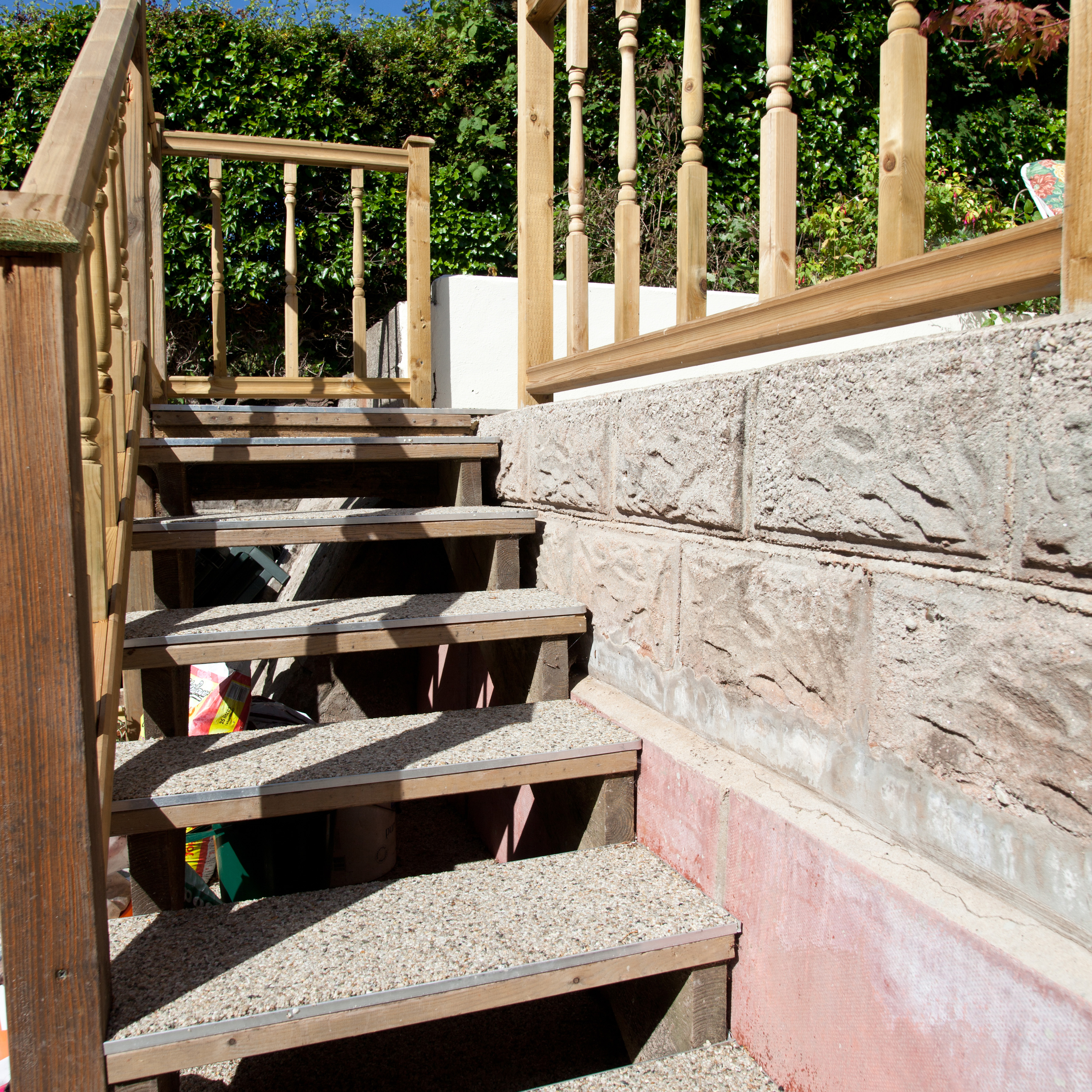 Resin Bound Steps in Sidmouth