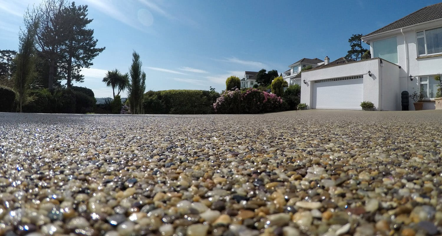 A stunning resin driveway